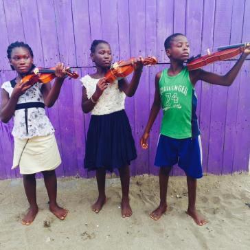 Ghana violins 2