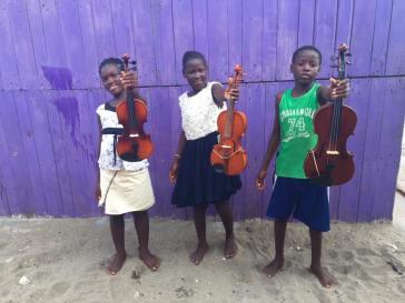 Ghana violins